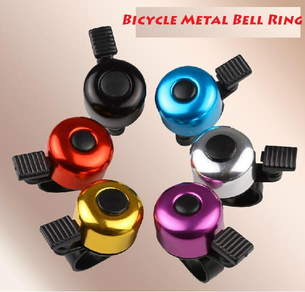 Metal Ring Handlebar Bell Sound Alarm for Bike Bicycle with Compass