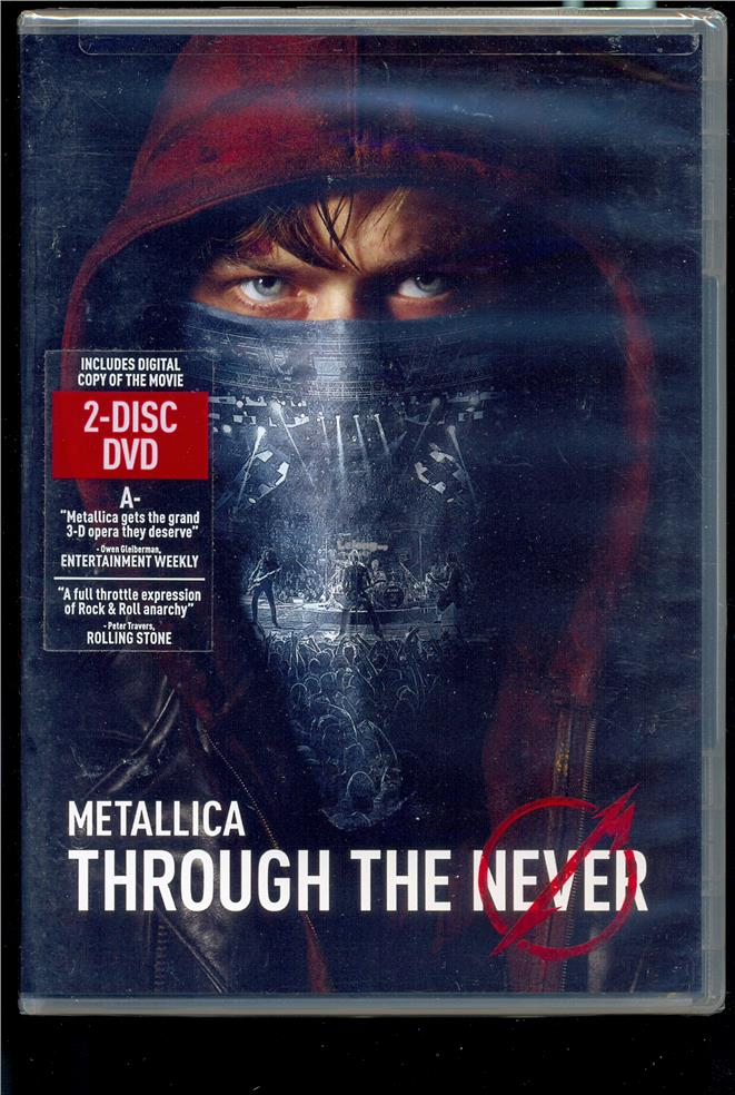 Metallica Through The Never - New DVD