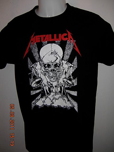 METALLICA 'SKULL' T-SHIRT BLACK