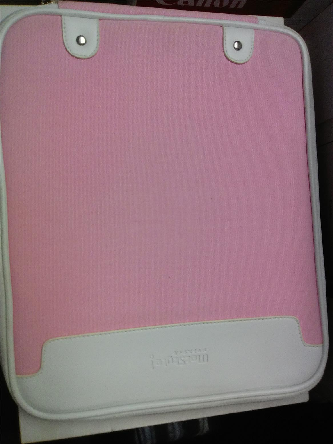 MetStyle Notebook bag for 14' (Pink) CLEAR STOCK