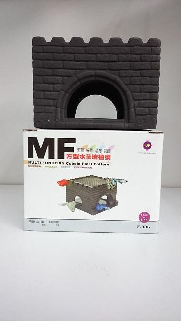 MF Multi Functional Ceramic Decoraction Cave ( House )