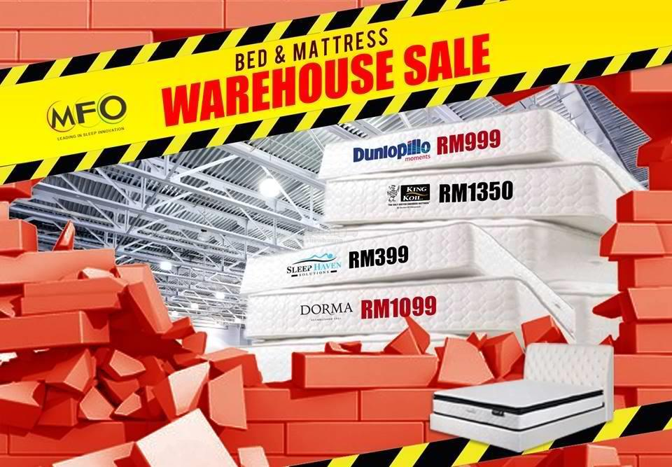 MFO Bed & Mattress Warehouse SALE end 12 31 2016 11 15 PM