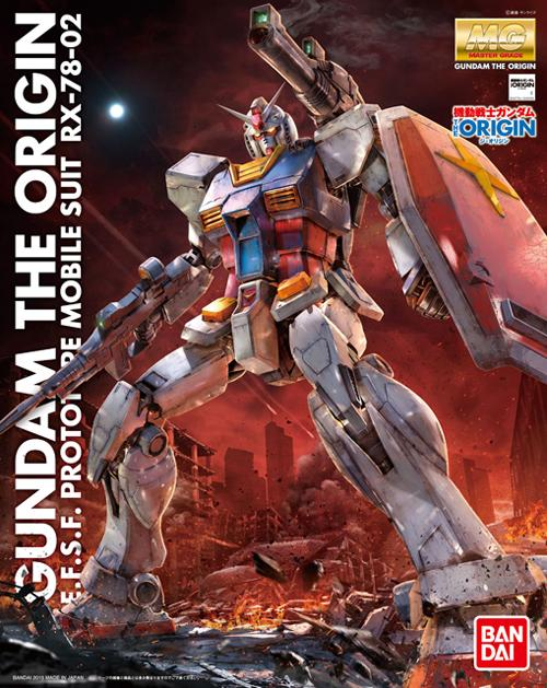 MG 1/100 RX-78-02 Gundam (GUNDAM THE ORIGIN Ver.)