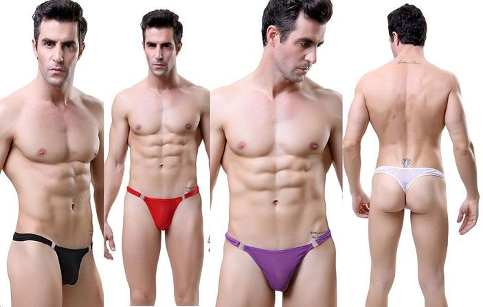 MG3009 Sexy Panties Sexy Underwear Man G-String (4 Colors)