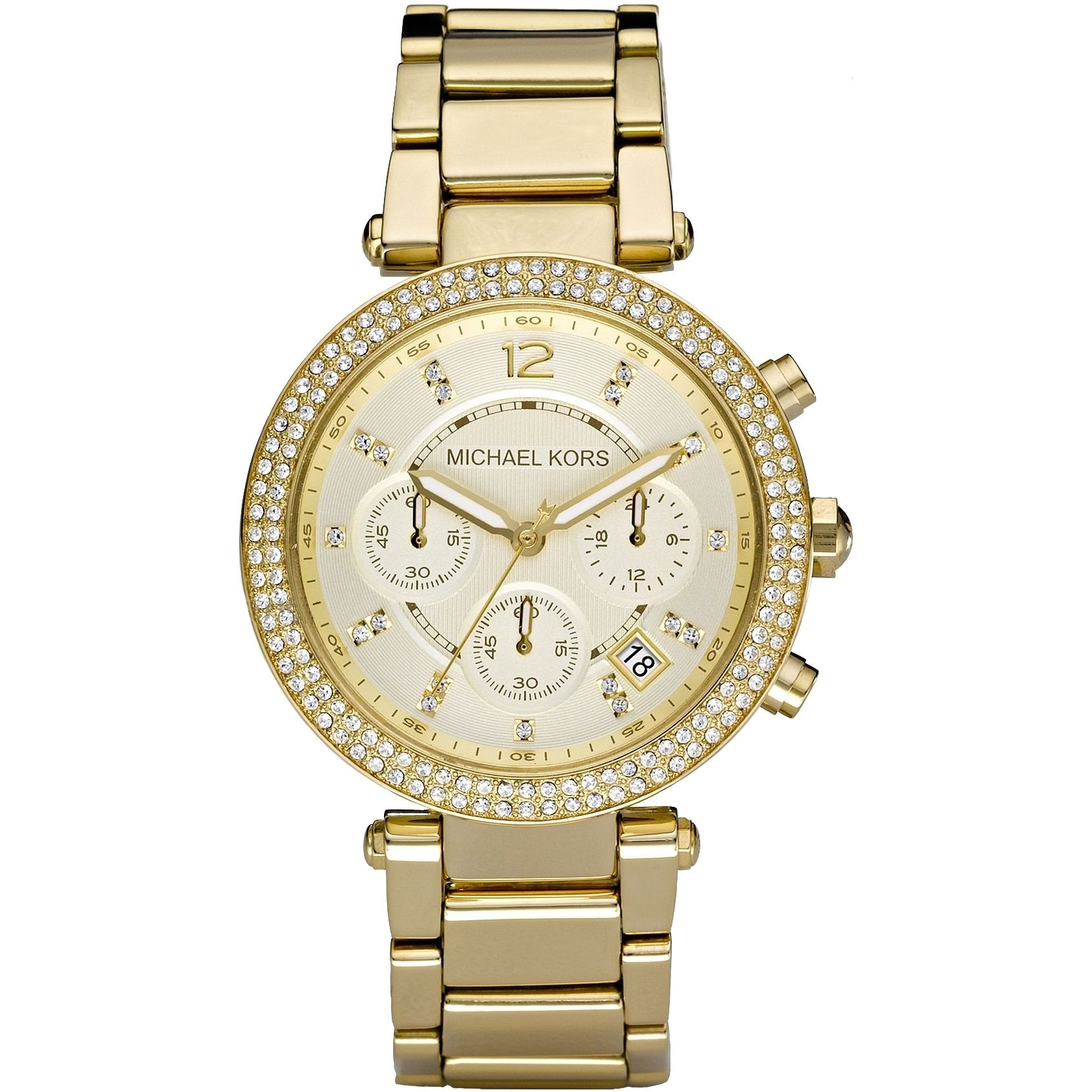 Michael Kors MK5354 Parker Chronograph Gold Women's Watch