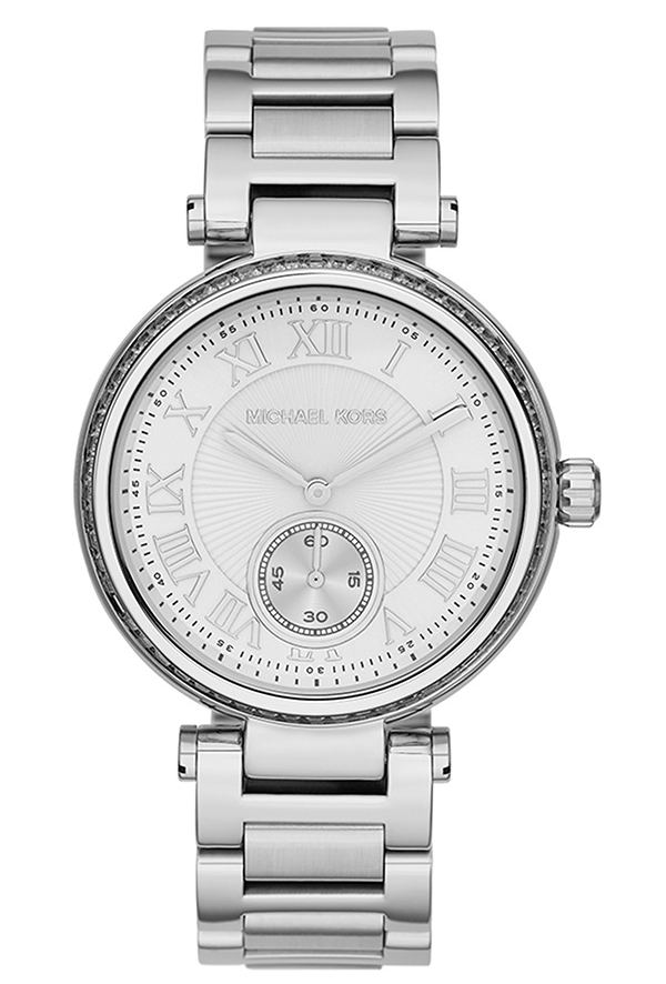 Michael Kors MK5866 Skylar Two hand Glitz Silver Women's Watch