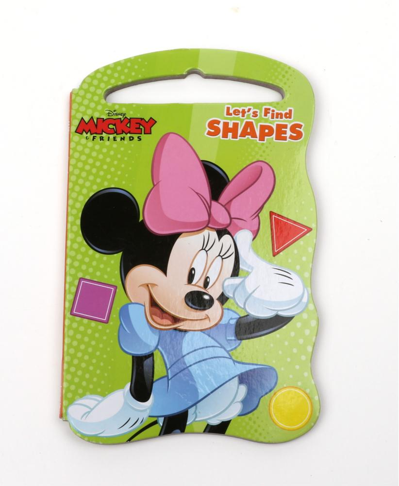 Mickey And Friends 'Lets Find Shapes'