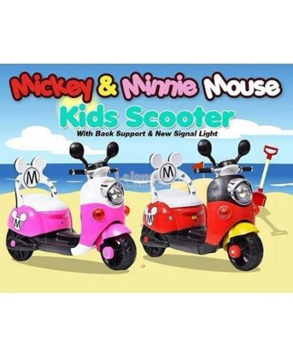 Mickey Minnie Electric Scooter