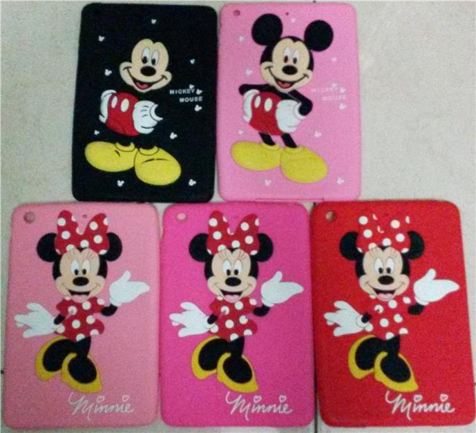 Mickey & Minnie Mouse iPad mini Thickness Protective Silicone Case