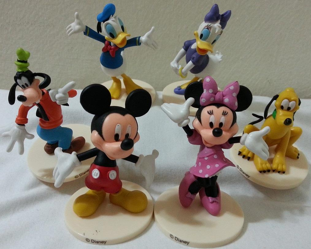 Mickey Mouse, Minnie Mouse,Daisy,Donald Cake Topper Figurine -MMCT22