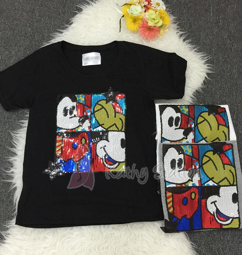 Mickey Mouse Sequin T-Shirt [10163]