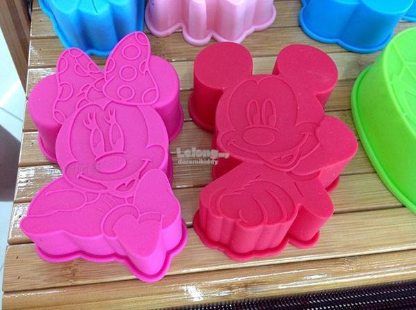 Mickey Mouse Small Silicon Mould