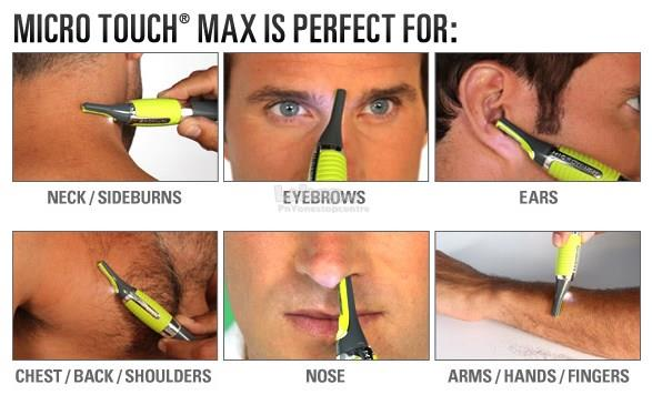 Micro Touch Max Multi-Function Trimmer