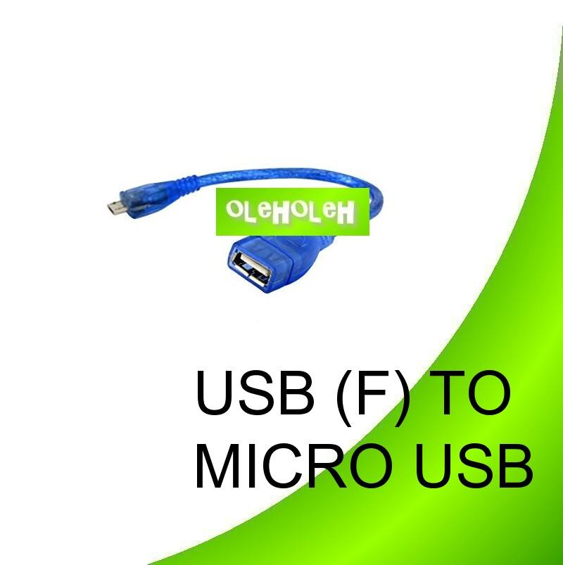 Micro USB Host OTG Cable Micro USB to Female USB