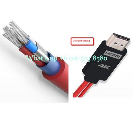 MICRO USB MHL 3.0 TO 4K HDMI  CABLE ADAPTOR 3D  4X1080HD SAMSUNG