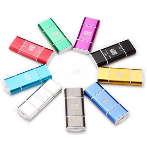 Micro USB OTG + USB 2.0 Micro SD Card Reader