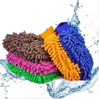 Microfiber Double-side Cleaning Glove 14662