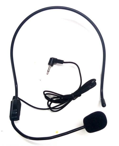 Microphone Headset Vocal Wired Headworn Head headset 3.5MM Jack