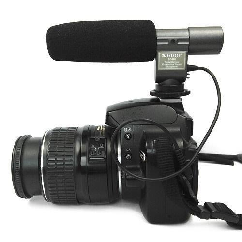 Microphone Mic for DSLR Camera Video Camcorder