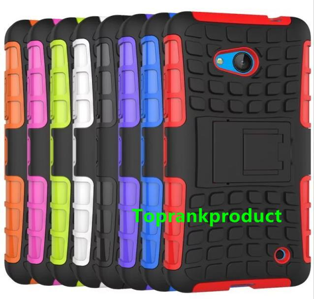 Microsoft Nokia Lumia 640 / XL Tough Armor Back Case Cover Casing
