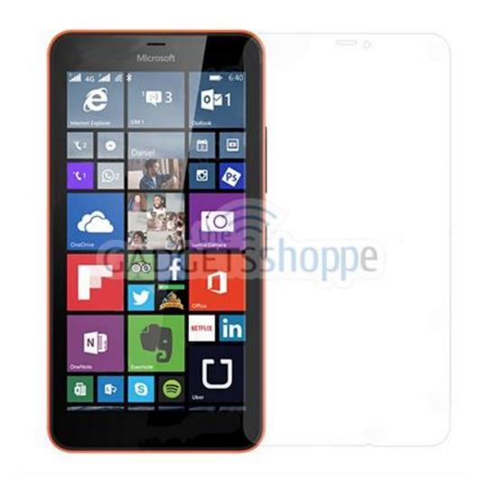 MICROSOFT NOKIA LUMIA 640XL 0.25MM 9H TEMPERED GLASS SCREEN PROTECTOR