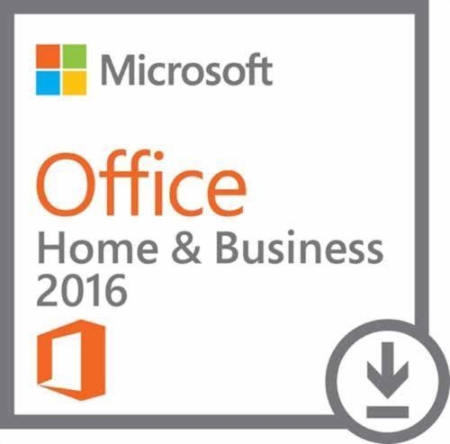 Microsoft Office 2016 Home and Business Genuine FPP Key