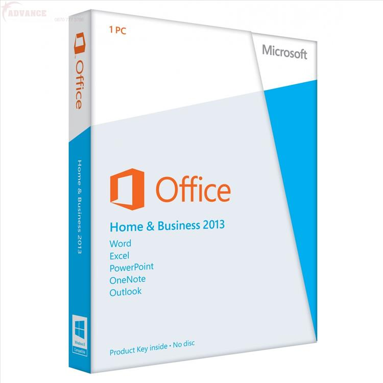 Microsoft Office Home & Business 2013 (Genuine Retail Version)