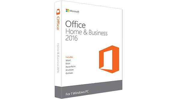 Microsoft Office Home And Business 2016 English DVD Power Point Excel