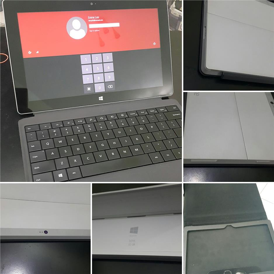 Microsoft Surface 2 + Black Cover