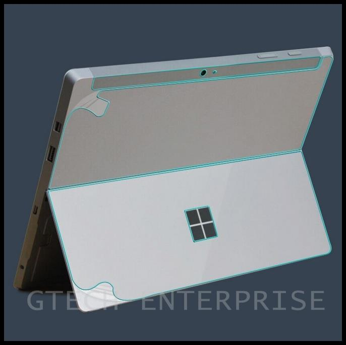 Microsoft Surface PRO 4 Tablet Back Carbon Fiber Screen Protector Skin