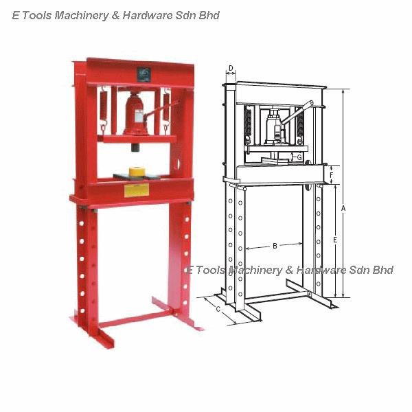 20 ton press machine