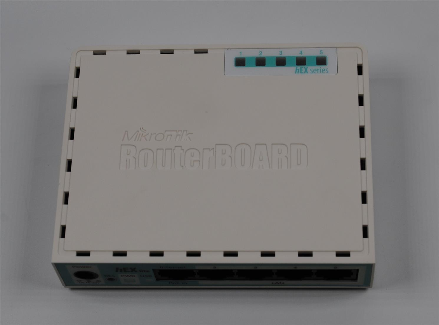 Mikrotik RB750r2 hEX Lite RouterOS Routerboard VPN Router OS