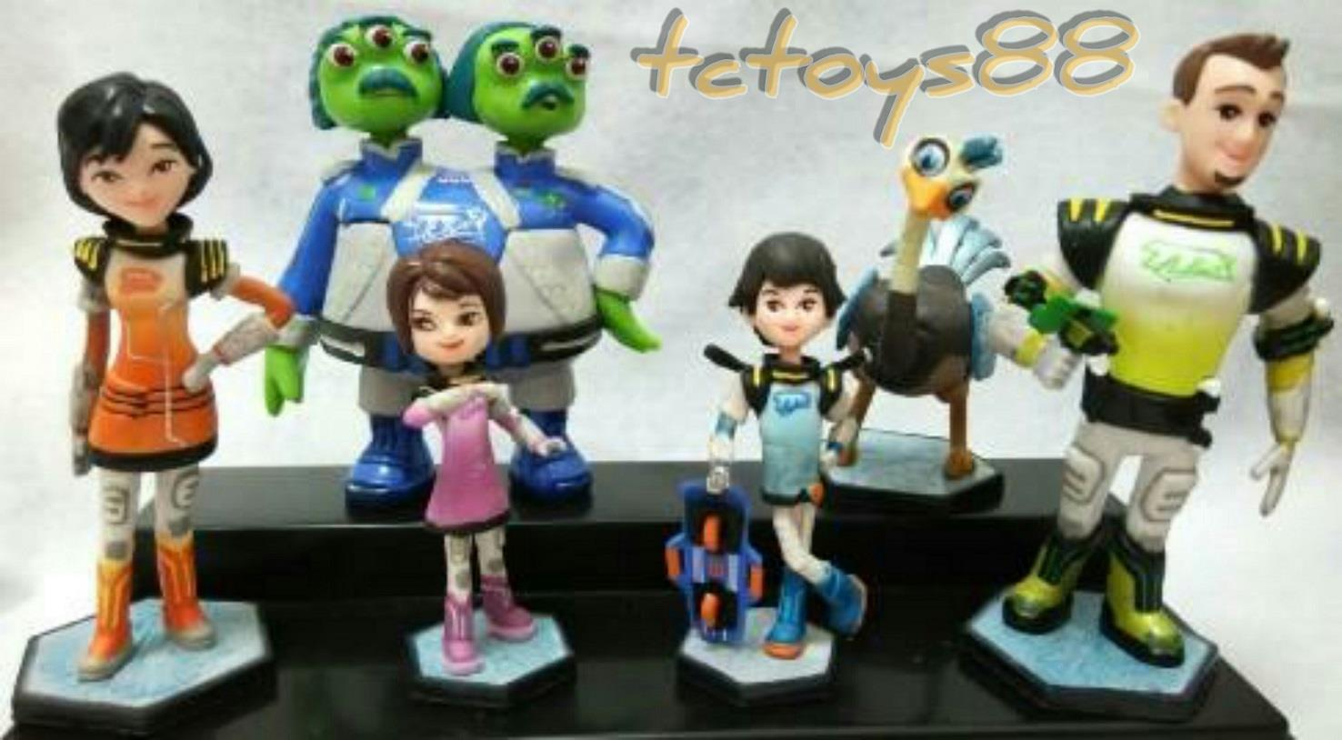Miles from Tomorrowland figure. cake topper. 6pcs set. OFFER.!!