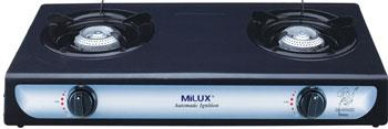 MILUX DOUBLE BURNER GAS COOKER YS-1010B