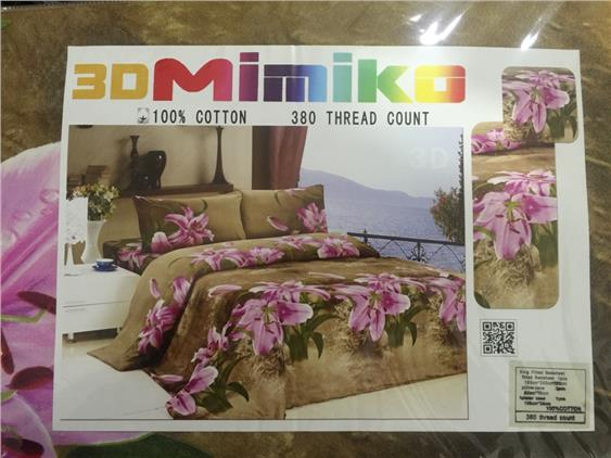 Mimiko King size fitted bedsheet (king 9)