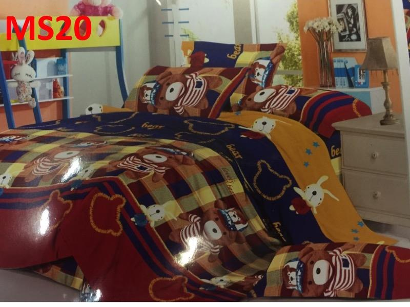 Mimiko Single size fitted bedsheet (MS20)