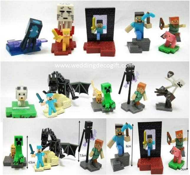 Minecraft Toy Figures - MCCT04