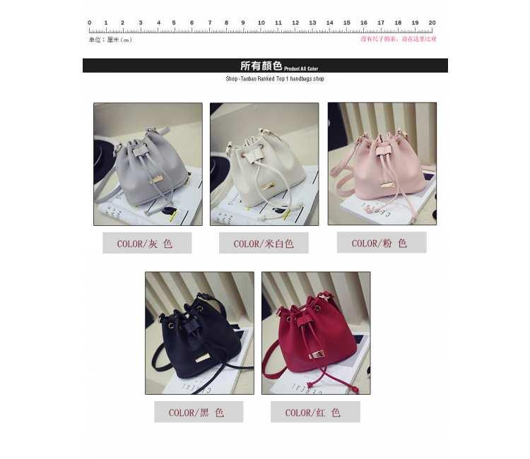 MINI BUCKET SLING BAG -BBFX3526