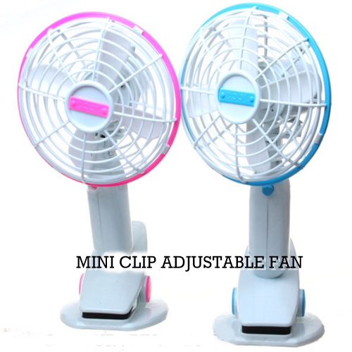 MINI CLIP FAN (Random Color)