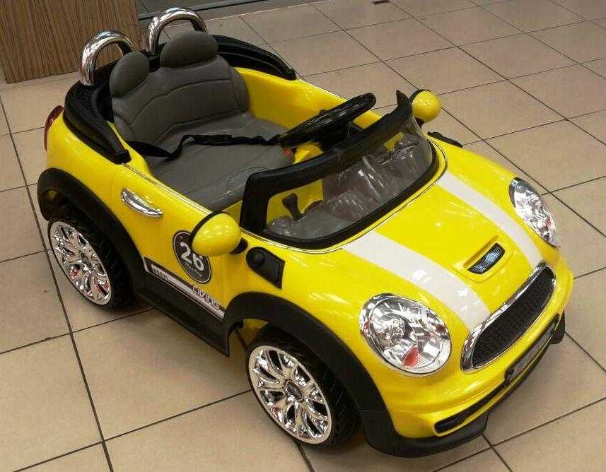 mini cooper children kids car with remote control