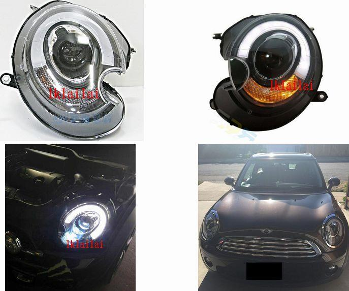 Mini Cooper R55 R56 06-12 Light Bar Daylight Head Lamp HID D1S Bulb