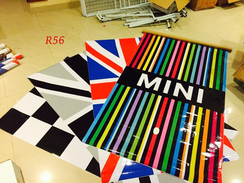 MINI Cooper R56 Union Jack Roof Sticker