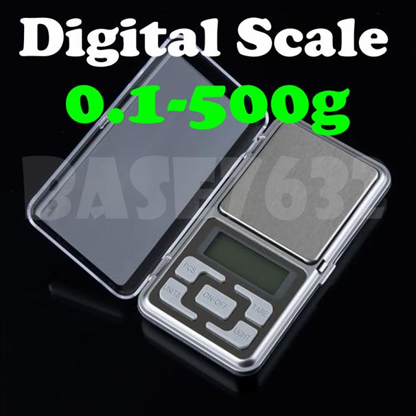 Mini Digital Pocket  Weighing Scale 0.1g- 500g Scale Jewelry Weight