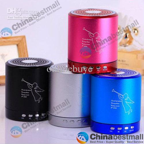 MINI DIGITAL PORTABLE SPEAKER WITH TF / USB / FM (T-2020) MANY COLOR