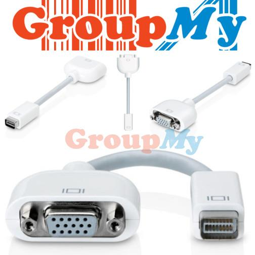 Mini DVI Port to VGA Adapter for Apple Mac Macbook iMac Display Monito