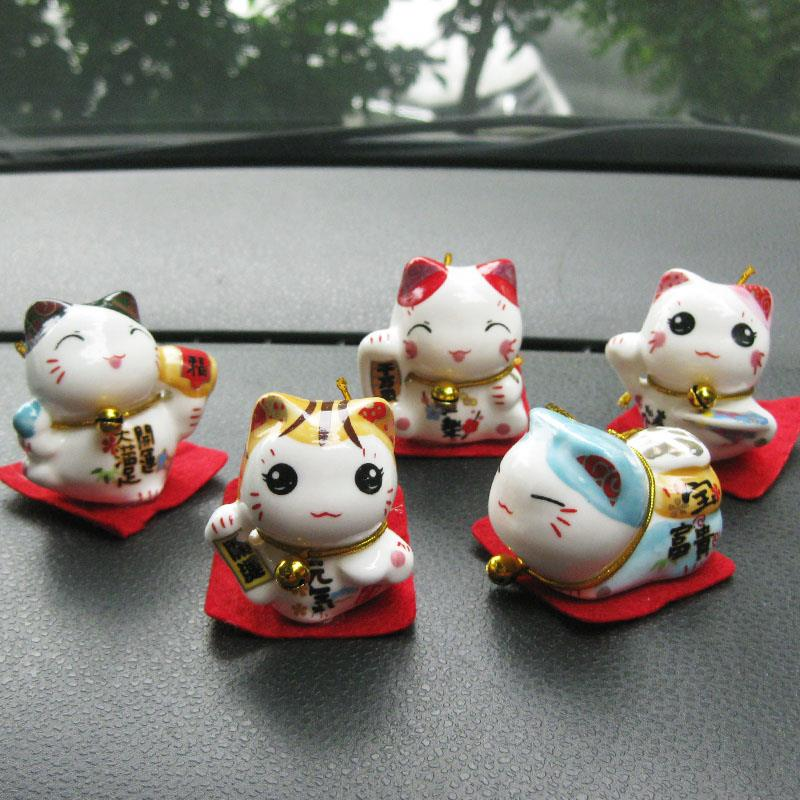 MINI FORTUNE LUCKY CAT SET (5 in 1) CUTE VERSION