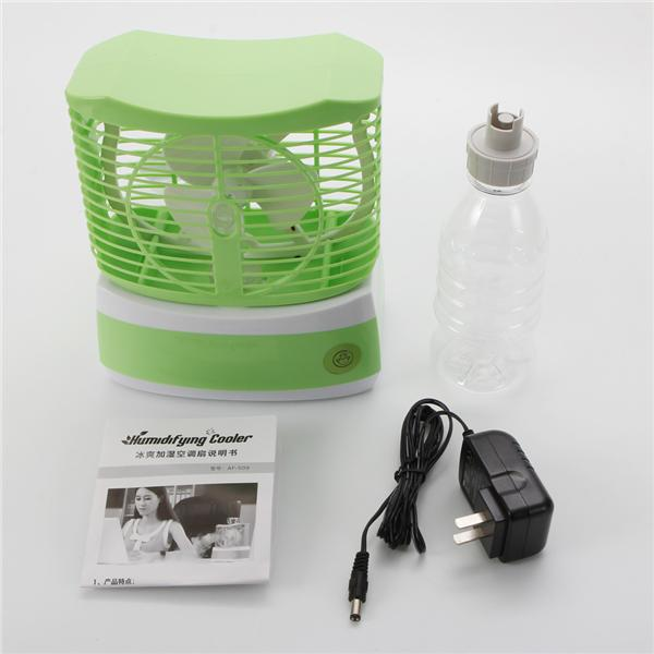 Mini Humidifier Cooler Table Mist Water Spray Maker Air Conditioning C