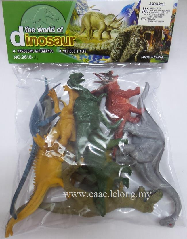 Mini Jurassic Dinosaur Set in a Bag