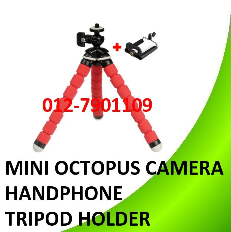 Mini Octopus Camera tripod mobile handphone holder