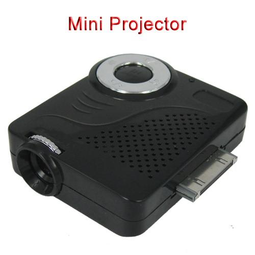 Mini Palm-sized Innovative Projector Compatible for Apple Series Suppo..